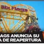 Six Flags México anuncia fecha de reapertura… con medias ante covid-19.