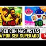 Baby Shark supera a Despacito: ya es el vídeo más visto de YouTube.